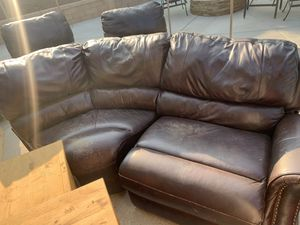 Leather Sectional Couch for Sale in Corona, CA