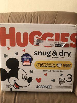Huggies Diaper size 3 for Sale in San Jose, CA