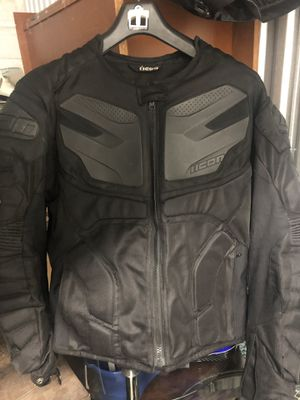 Icon motorcycle jacket for Sale in Lake Shore, MD