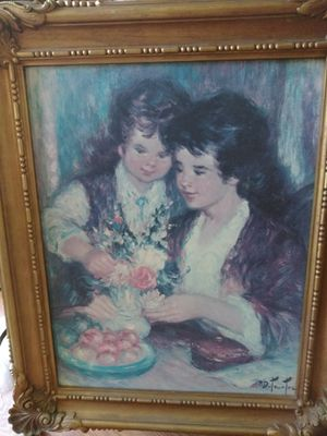 Painting by French painter Pierre duteurtre for Sale in Chelan, WA
