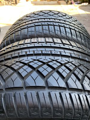 275 30 19 Continental Extreme DWS 2 tires for Sale in Manassas, VA