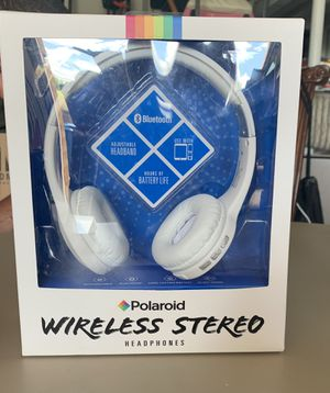 Polaroid wireless headphones for Sale in Carnegie, PA