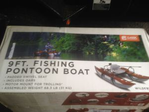 Wilderness 2017 pontoon boat brand new in the box for Sale in Snohomish, WA
