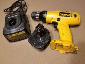DeWALT drill battery and charger for Sale in Bradenton, FL