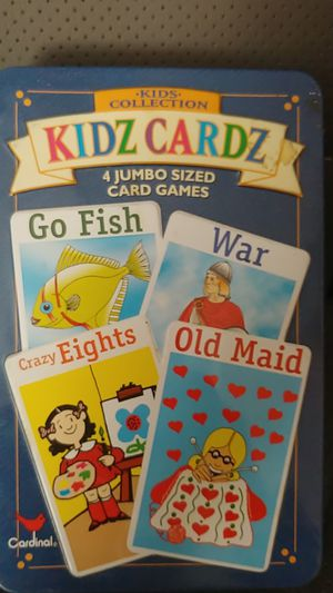Kids Cards in tin box for Sale in TEMPLE TERR, FL