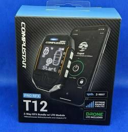 T12 compustar remote start installed with drone for Sale in Houston, TX