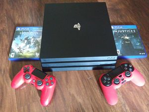 Ps4 Pro 1Tb bundle (price is firm none negotiable) for Sale in Norcross, GA