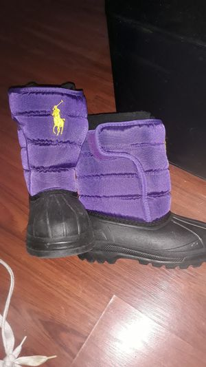 Ralph Lauren polo snow boots for Sale in Ridley Park, PA