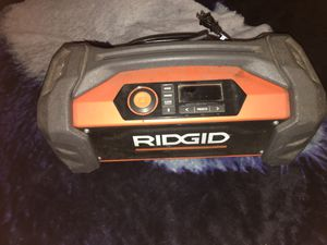 lOUD Rigid Bluetooth battery job site radio for Sale in Los Angeles, CA