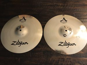 "Zildjian A Custom 14"" Hi Hats for Sale in Cape Coral, FL"