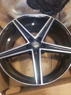 Sporza Topaz 20 inch wheels. 5x108. 500obo for Sale in Ankeny, IA