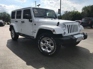 2015 Jeep Wrangler Unlimited for Sale in Channahon, IL