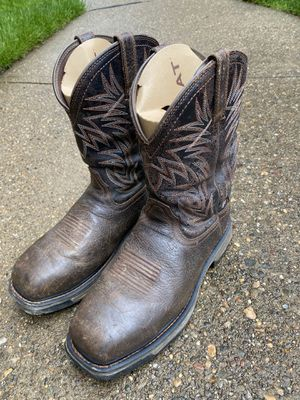 Ariat work boots size 9.5 for Sale in Pittsburgh, PA