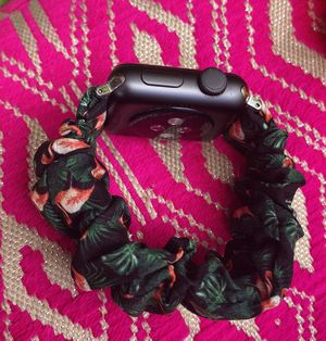 Flamingo apple watch scrunchie band for Sale in Paramount, CA