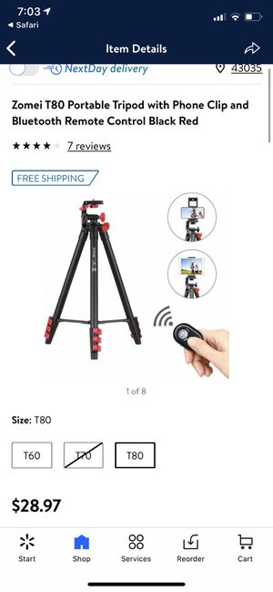 Zomei T80 portable tripod for Sale in Columbus, OH