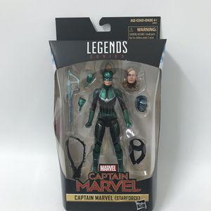 Marvel legends series captain marvel starforce action figure store exclusive for Sale in Los Angeles, CA