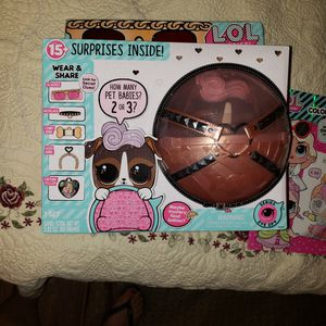 LOL surprise! BIGGIE PETS with LOL Coloring Book for Sale in Jurupa Valley, CA