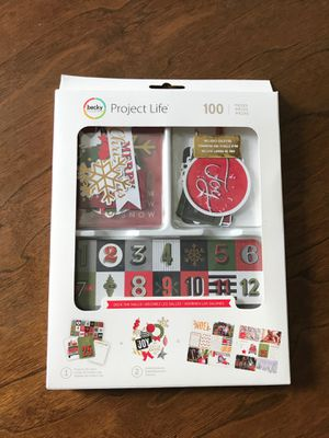 """Project Life """"Deck The Halls"""" 100 pc set for Sale in Carrollton, TX"""