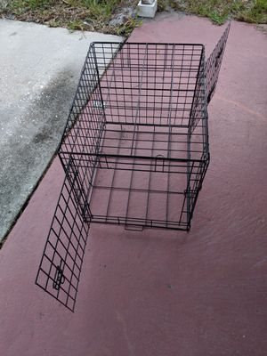 Small dog crate and carry on bag for Sale in Clearwater, FL