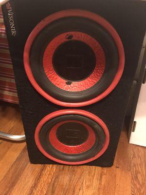 (2 )10 Visonik speakers for Sale in Boston, MA