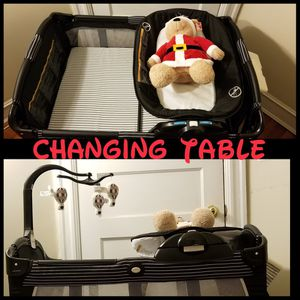 Playpen with changing table for Sale in Washington, DC
