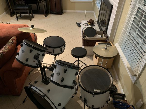 Ludwig accent drum set