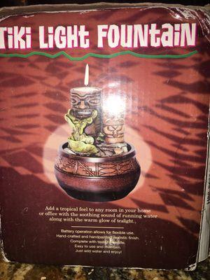 6. Tiki Light Fountain for Sale in Boca Raton, FL