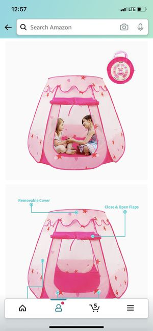 Princess pop up tent for Sale in Miami Gardens, FL