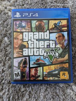 Grand Theft Auto 5 PS4 GTA V for Sale in University Place,  WA