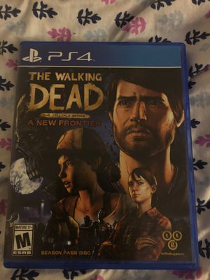 The walking dead game a new frontier (episode's 1-5) (used) for Sale in Upland, CA