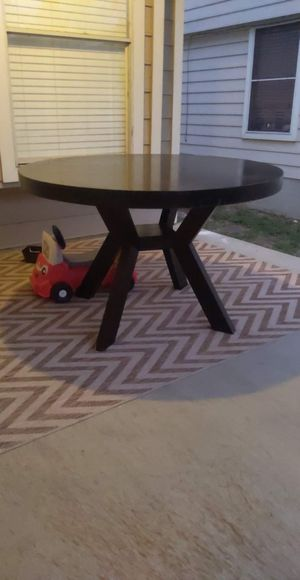 Wooden table for Sale in Niederwald, TX