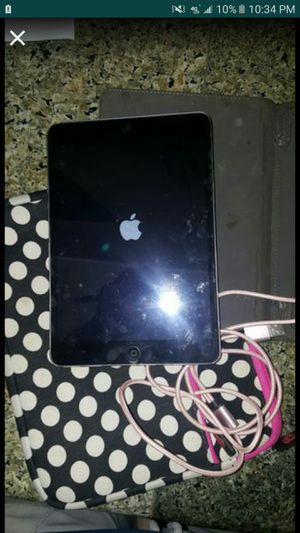 ipad black mini $75 for Sale in Downey, CA