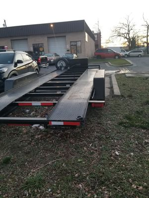 2013 holmes trailer 20 feets long in great condition. With a Brendan winch for Sale in Brentwood, MD