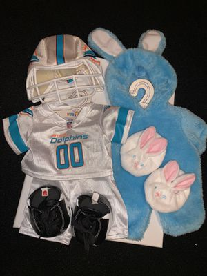 Build a bear workshop (Miami dolphins) (Easter bunny) for Sale in Anaheim, CA