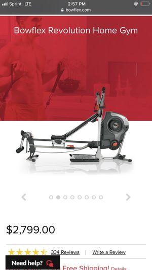 Bow flex Revolution Home Gym for Sale in Miami Gardens, FL