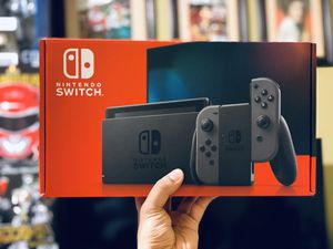 NEW Nintendo Switch 32GB Console V2 - Gray or Neon Blue & Neon Red for Sale in Long Beach, CA