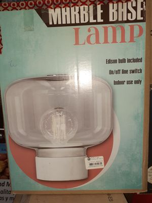 Brand new marble base lamp for Sale in Los Angeles, CA