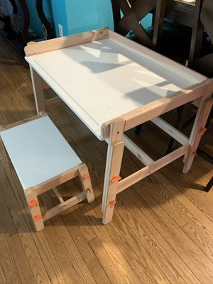 Kids desk and bench for Sale in Brentwood, MD