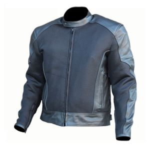 Leather and Mesh Motorcycle Biker Racing Jacket All Sizes for Sale in Austin, TX