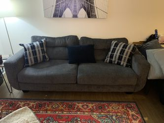"Custom fabric mid century modern couch 92"" Wide for Sale in Downey,  CA"