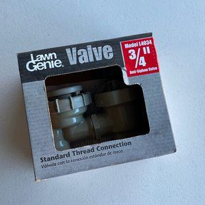 LawnGenie 3/4 Sprinkler Valve for Sale in Rancho Cucamonga, CA