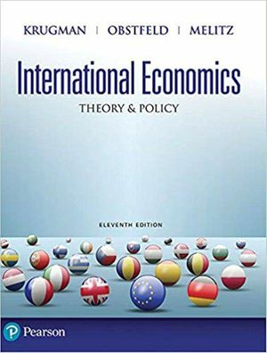 International Economics: Theory and Policy 11th Edition ebook PDF for Sale in Los Angeles, CA