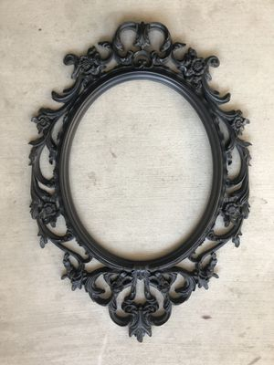 Plastic Large Ornate Black Frame for Sale in Anaheim, CA