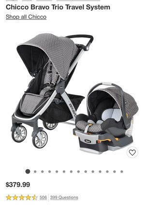 Chico Bravo trio travel system New in box for Sale in O'Fallon, MO