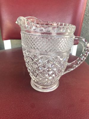 Crystal vintage small pitcher for Sale in Altadena, CA