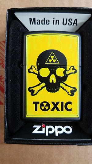 Zippo toxic black matte 28310 for Sale in Los Angeles, CA