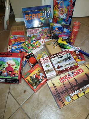 Assorted toys, games and puzzles for Sale in Claremont, CA