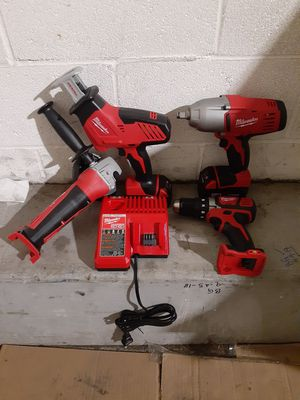 New Milwaukee M18 4 Tool Combo for Sale in Riverside, CA