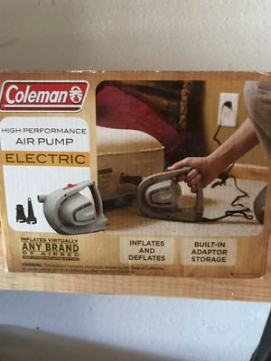 Electric handheld pump. Great for air mattresses! for Sale in McKinney, TX