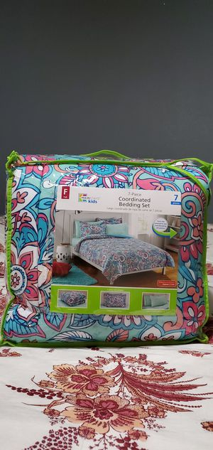 Full Size 7~Pc Coordinated Bedding Set for Sale in El Mirage, AZ